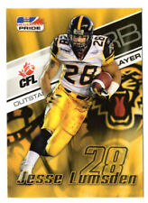 Jesse Lumsden 2007 Extreme CFL card #25 Hamilton Tiger-Cats  McMaster Marauders