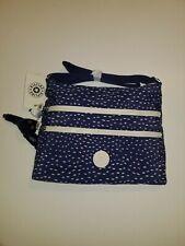 Kipling Alvar Crossbody bag Surreal Dot Blue print NWT
