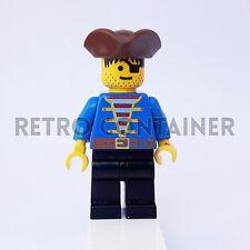 LEGO Minifigures - 1x pi080 - Pirate - Pirati Omino Minifig 1492 6263 1970 1889