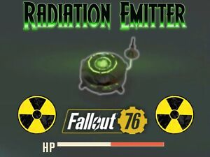 Fallout 76 PS4 - Plan: Radiation Emitter **Read**