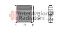 Wärmetauscher Innenraumheizung - van Wezel 13006139