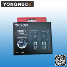 YONGNUO Upgraded YN-622C II Wireless TTL Flash Trigger  HSS/FP for Canon Cameras
