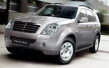 SSANGYONG REXTON I & II 2001-2010 ALL PETROL AND DIESEL WORKSHOP SERVICE MANUAL