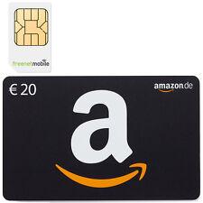 freenetMobile DUO SIM-Karte + 20,00 EURO AMAZON GUTSCHEIN KOSTENLOS • D2 Netz