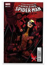 THE AMAZING SPIDER-MAN #15 - Cover B - David Lopez Variant Cover - Marvel Comics