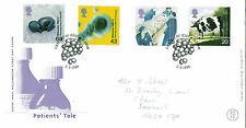 2 MARCH 1999 PATIENTS TALE ROYAL MAIL FIRST DAY COVER OLDHAM SHS