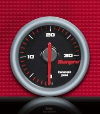 "2"" Sunpro performance sport st BOOST gauge hot rat rod cp7025"