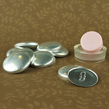 "10 WIRE BACK Cover/Covered Buttons Kit Size 30 (3/4""/19mm) Fabric FREE SHIPPING"
