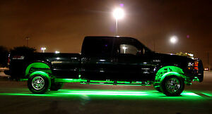 Oldsmobile Waterproof Ground Effects Strip Lighting 300 LED LightBulbs 1815 NOS
