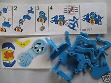 K01 n. 37    IL GRANCHIO  BLU  + cartina kinder