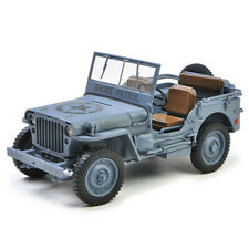 1:18 JEEP WILLYS MB SHORE PATROL 1941 Military Diecast Car Model Collection