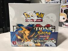 POKEMON TCG EVOLUTIONS BOOSTER BOX 36 PACKS OFFICIAL LICENSED SEALED SHIPS NOW