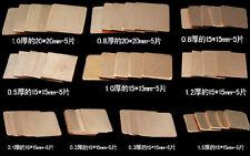 10*5 PCS Pure Copper Heatsink Shim Pad Kit For Laptop CPU GPU Repair Kit 50PCS