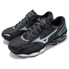 Mizuno Wave Creation 19 Black Blue Men Running Shoes Sneaker Trainer J1GC1701-05