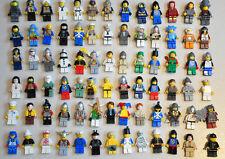 BULK LEGO 20 random Minifigs Mini Figures inc Police Jail Space Hats Hair heads