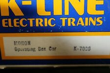 K-Line #K-7006, Operating Box Car, New/BOX   (shelf)