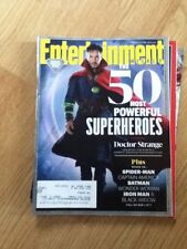 Entertainment Weekly Magazine October 21/28, 2016 50 Most Powerful Superheroes
