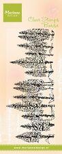 Marianne Design claro sello-Tiny 'S Borde-Foxgloves-TC0849-Flores-Nuevo