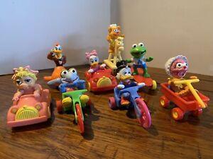 Mcdonalds Muppets Warner Bros Vintage 1980s Happy Meal Toys