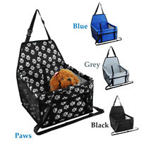 Pet Car Booster Seat Puppy Cat Dog Carrier Travel Protector Safety Basket Cover