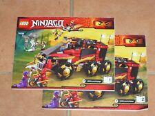 Notice Building Instruction Booklet LEGO Ninjago Set 70750 Ninja DB X