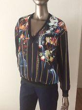 NWT Clover Canyon George Bernard Shaw sweatshirt sweater blouse Top size S -$211
