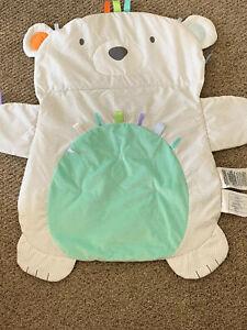 Bright Starts KidsIl Prop Up Play Tummy Time Mat Bear Taggie