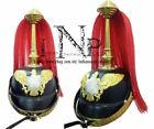 Imperial German WW1 Prussian fantasy Pickelhaube Spike Helmet With Parade Plume