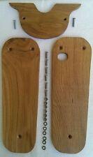 Design Echt-Holz Set Trittbretter & Luftfilterkastenabd. Simson Schwalbe KR 51