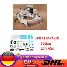 500mW Lasergravierer  Laser Maschine USB Mini CNC Router Fräse Graviermaschine