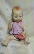 vintage hard plastic Darice collectible doll made in usa baby doll