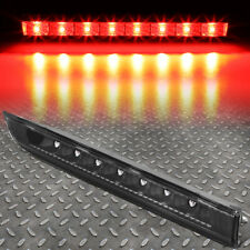 FOR 14-19 NISSAN ROGUE LED THIRD 3RD TAIL BRAKE LIGHT STOP PARKING LAMP BLACK