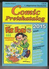 Comicpreiskatalog 2015 Polland in Topzustand !!!