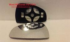 Audi tt côté passager chauffé wing door mirror glass audi tt 2007-2014 clip on