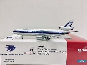 Herpa Wings Ariana Afghan Airlines DC-10-30 1:500 YA-LAS 534758