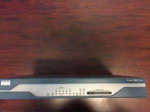Cisco CISCO1811/K9 Integrated Services Security Router