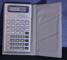 Vtg TEXAS INSTRUMENTS Business Analyst II Constant Memory CALCULATOR w Case