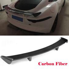 Rear Trunk Spoiler Lid Wing Fit For Jaguar F-TYPE Coupe 2014-2018 Carbon Fiber