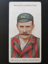 No.9 MR C.J.B. WOOD - LEIC - Cricketers LARGE S by W.D. & H.O. Wills 1908