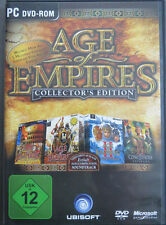 Age of Empires Collectors Edition Riesig mit Soundtrack in DVD Hülle
