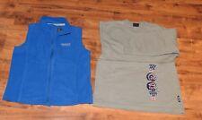 Regatta Kinder Fleece Weste blau + Sweatshirt Hummelsheim Lang beige - Größe 140