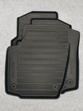 Original Skoda Rapid Gummifußmatten, vorne und hinten, 5JB061550