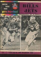 Football - NFL NEW YORK JETS vs ATLANTA FALCONS Oct 23 83 Program RICHARD TODD STEVE BARTKOWSKI Publications