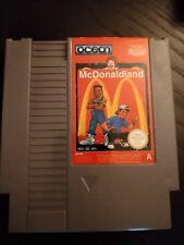 McDonald land Nintendo NES Cart only PAL UK