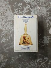 M.J. Hummel 1979 Annual Bell Second Edition in bas-relief Vintage Goebel