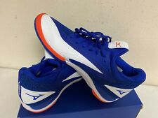 Mizuno Men's Wave Impulse AC Tennis Shoe in Blue/White