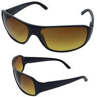 bdf17fdc89 HD High Definition Vision Driving Golf Sunglasses WrapAround Blue Blocker  Lens