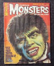 1965 FAMOUS MONSTERS Horror Magazine #34 GD 20 Spider Island
