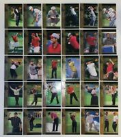 2001 Upper Deck Tiger Tales Tiger Woods #TT1-TT30 Complete Golf Rookie Cards Set