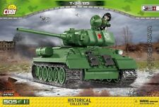 COBI T-34/85 / 2476 A  / 505 pcs  blocks WW2 Soviet tank Small Army ,,